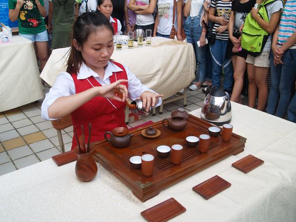 茶艺展示内容 茶艺展示版面设计